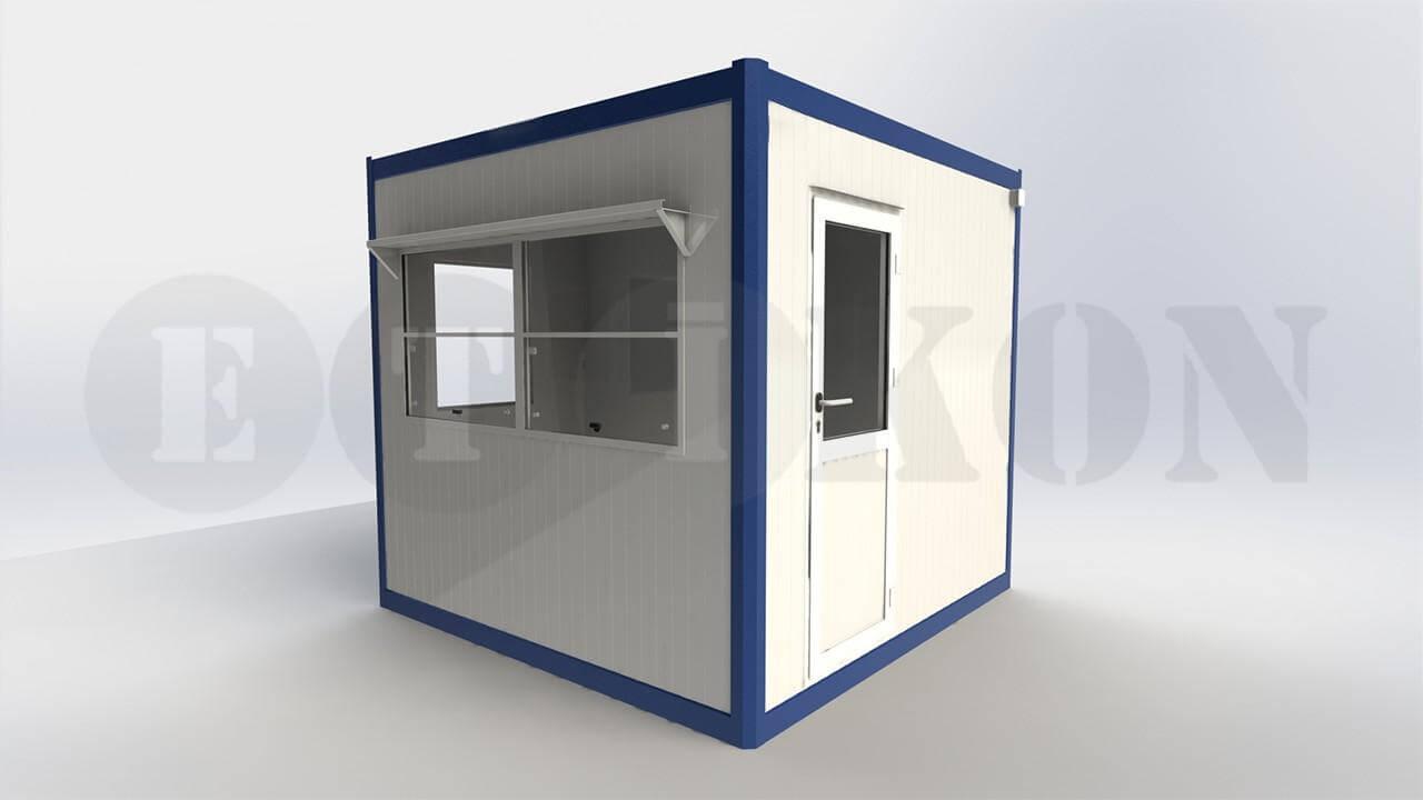 WC Güvenlik Panel Kabin